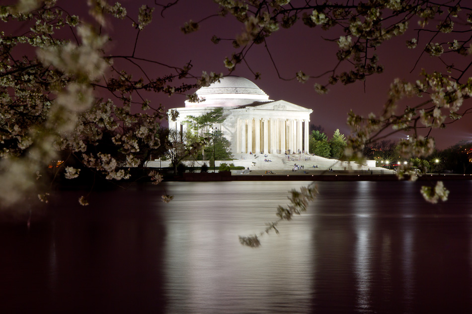 Jefferson Memorial at Dusk