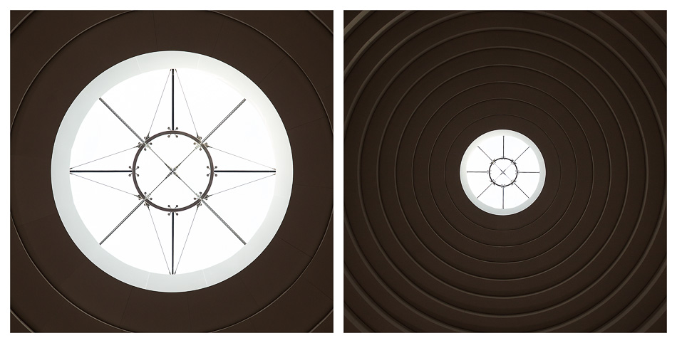 National Museum of the American Indian Ceiling Diptych